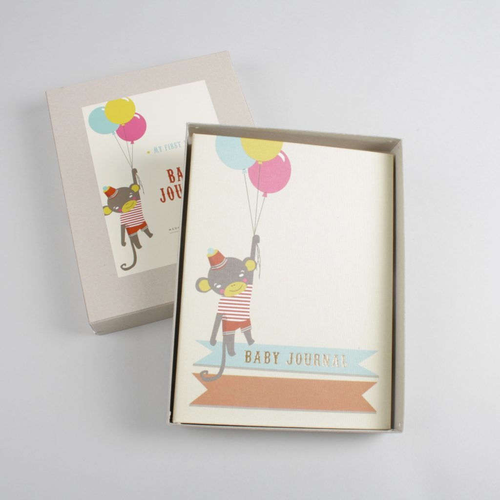 """Baby Journal """"Little Circus"""""""