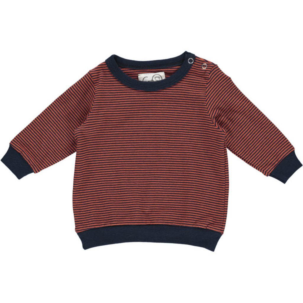 "Gro Baby Sweater ""Venus"" 2By2 Stripe"