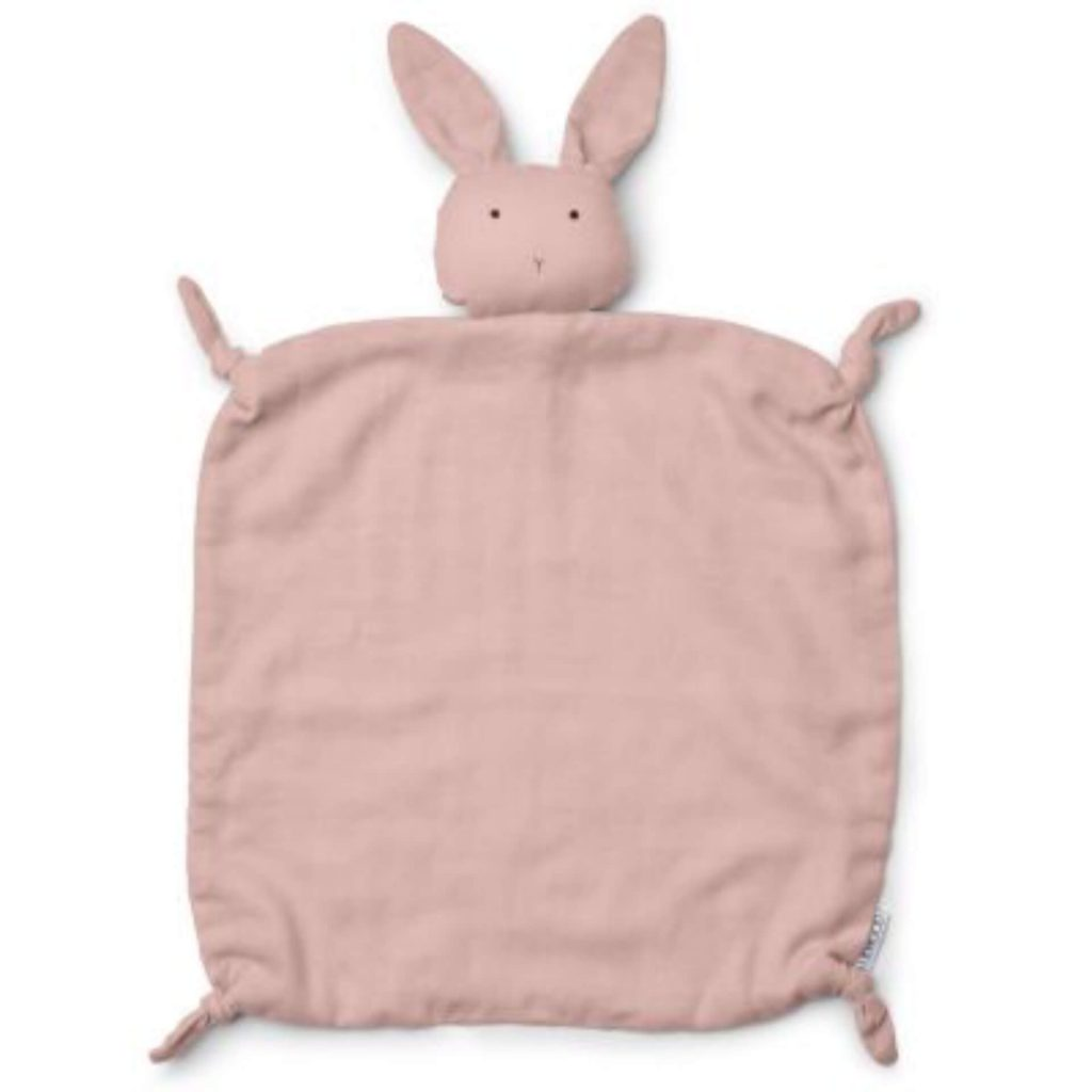 "Liewood Hase-Kuscheltuch ""Agnete"" Rosa"