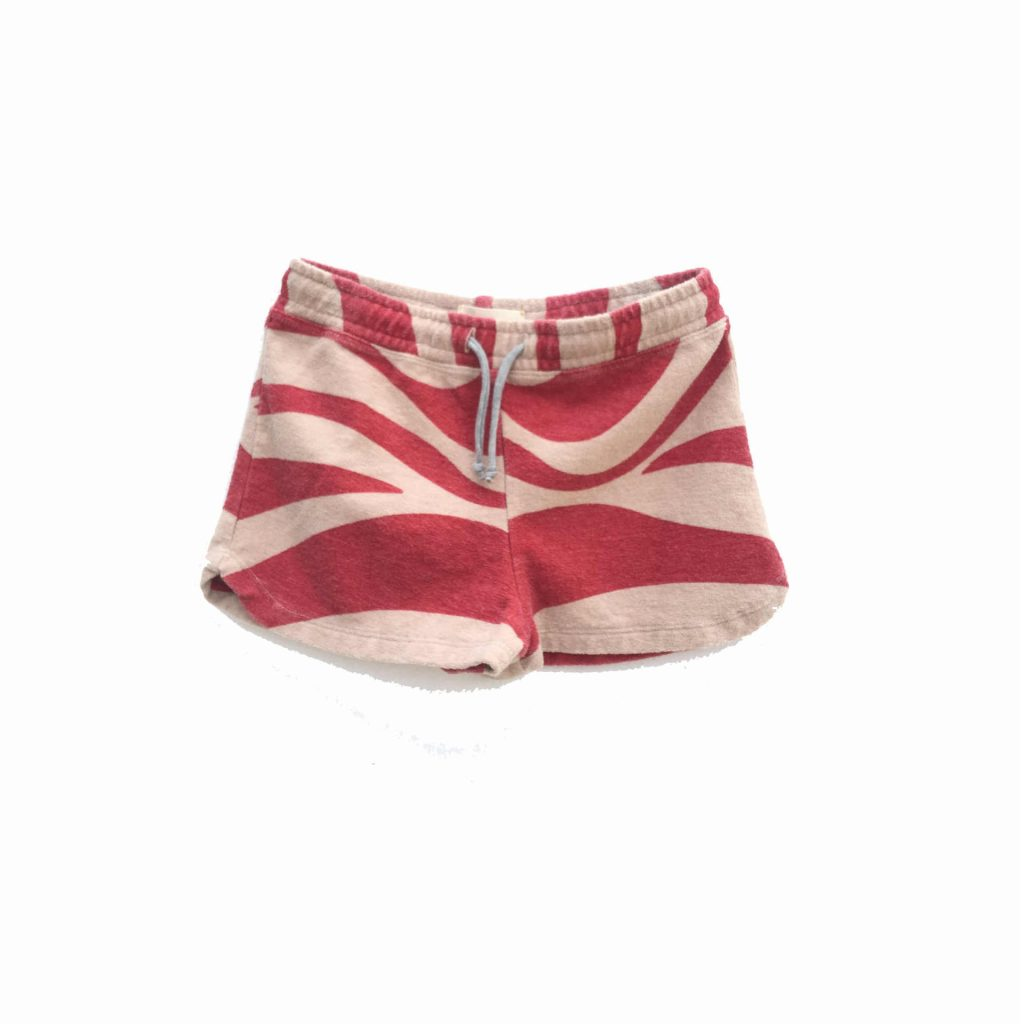 Longlivethequeen Terry Shorts rot-natur