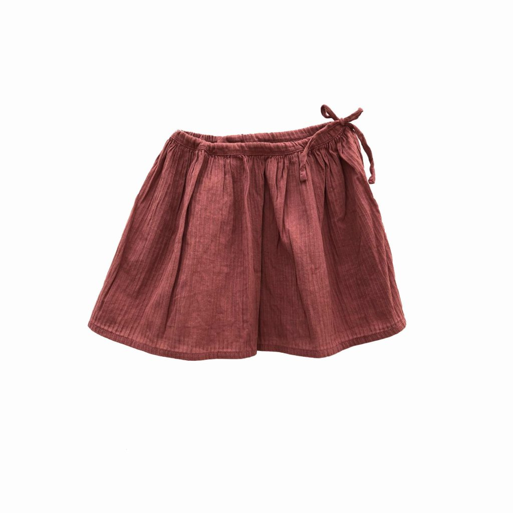 Longlivethequeen Wide Skirt, dirty rose