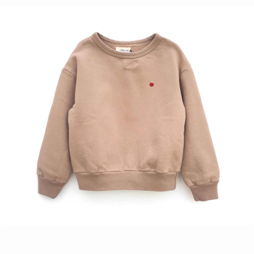 "Longlivethequeen Sweater ""Nude"""