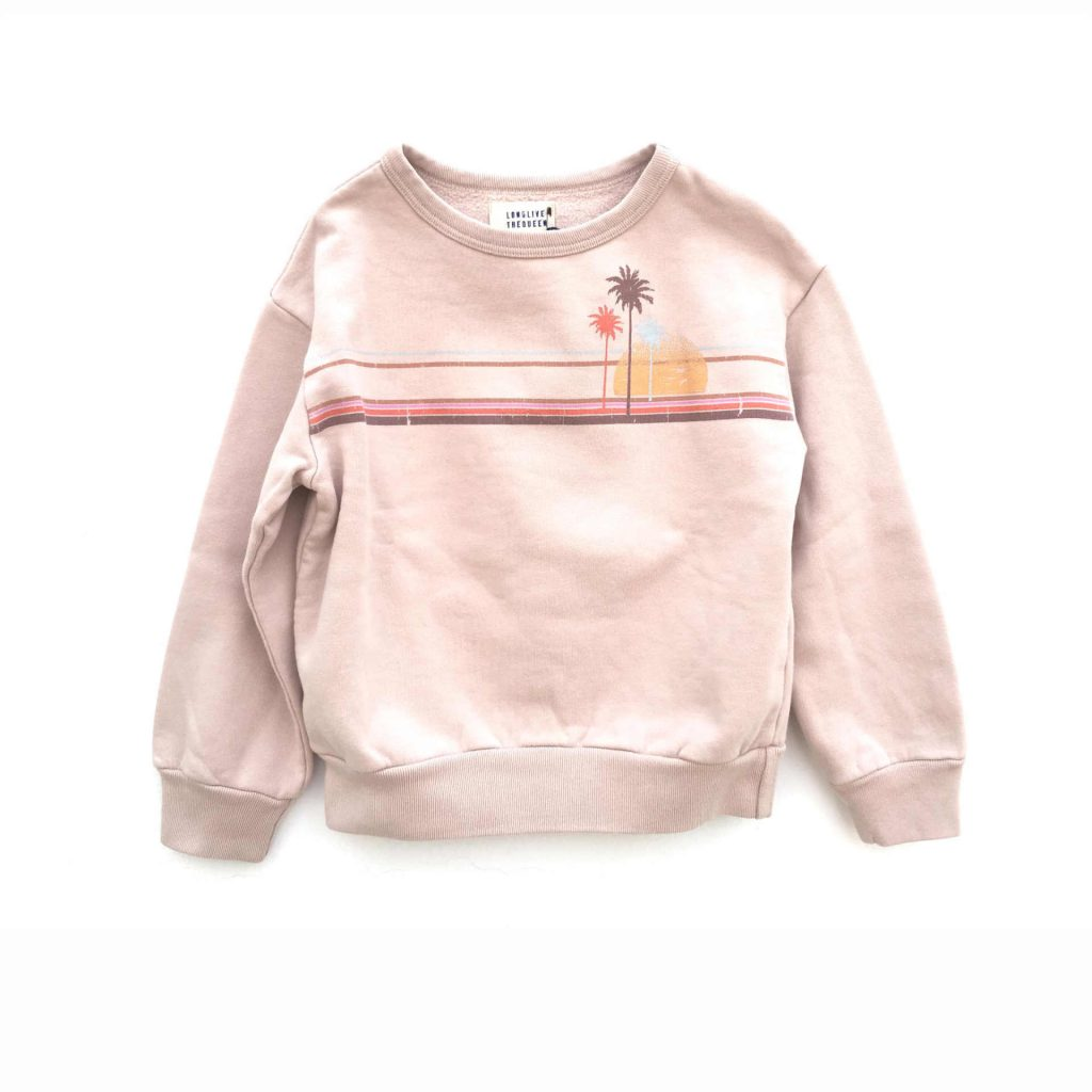 "Longlivethequeen Sweater ""Blush"""