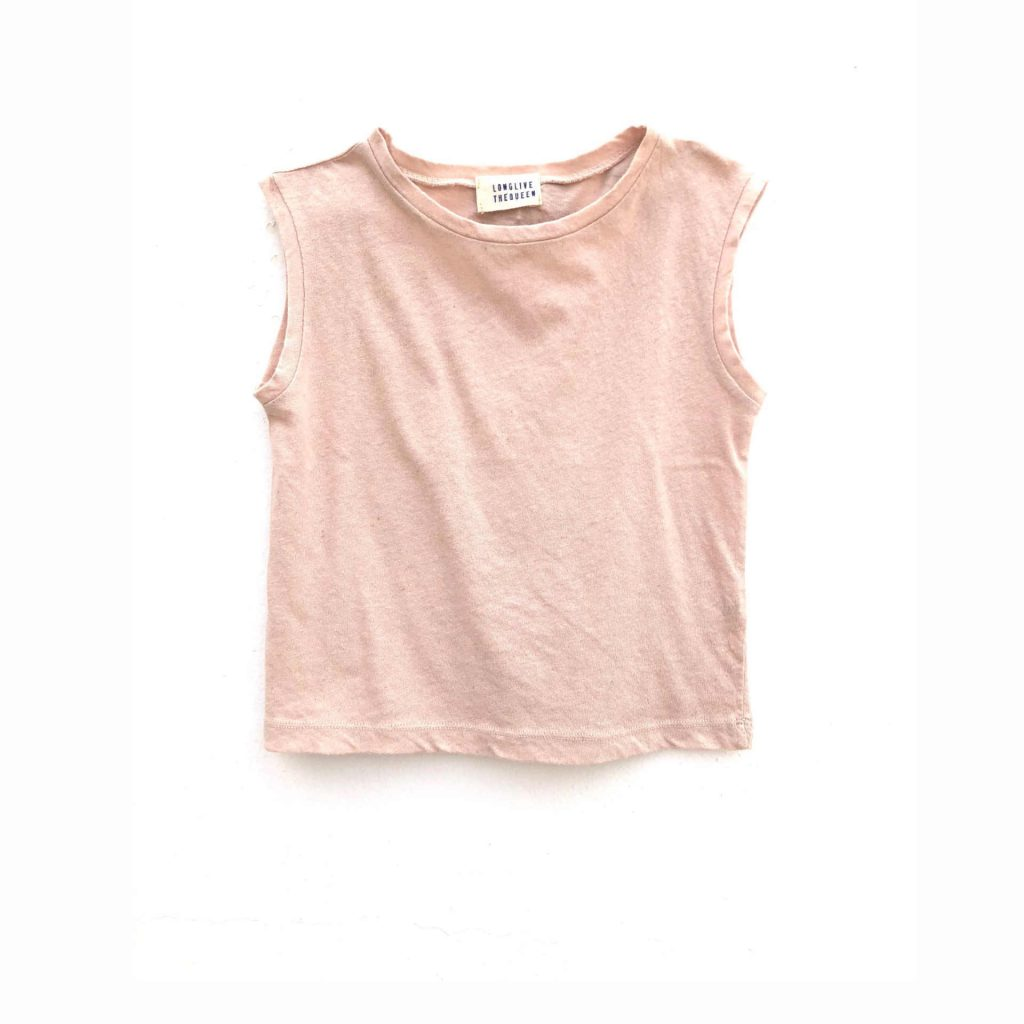 Longlivethequeen Sleeveless Shirt blush