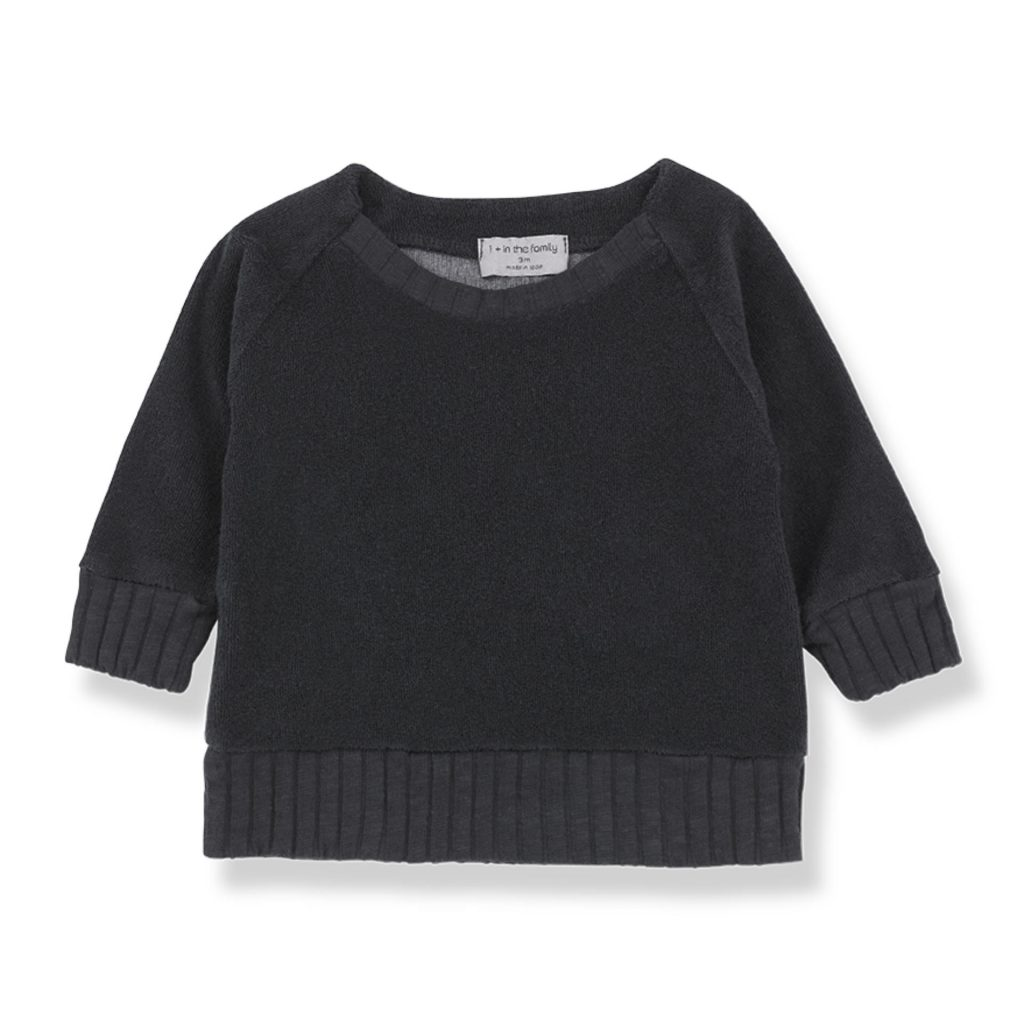 "1+ in the family Pullover ""Etienne"" schwarz"
