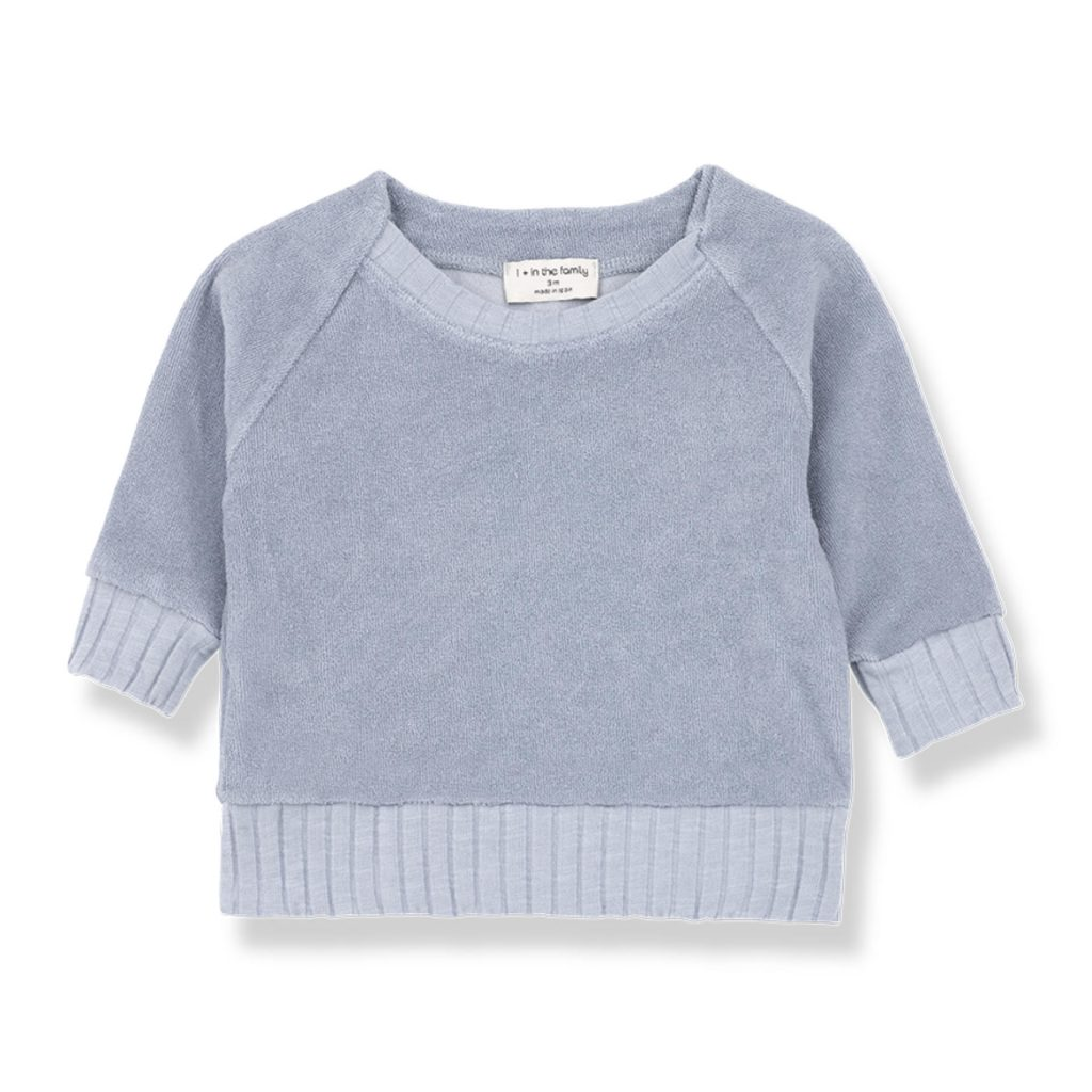 "1+ in the family Pullover ""Etienne"" hellblau"