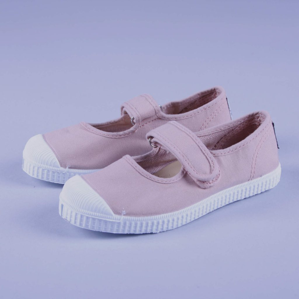 Natural World Kinderschuh Mary Jane rosa