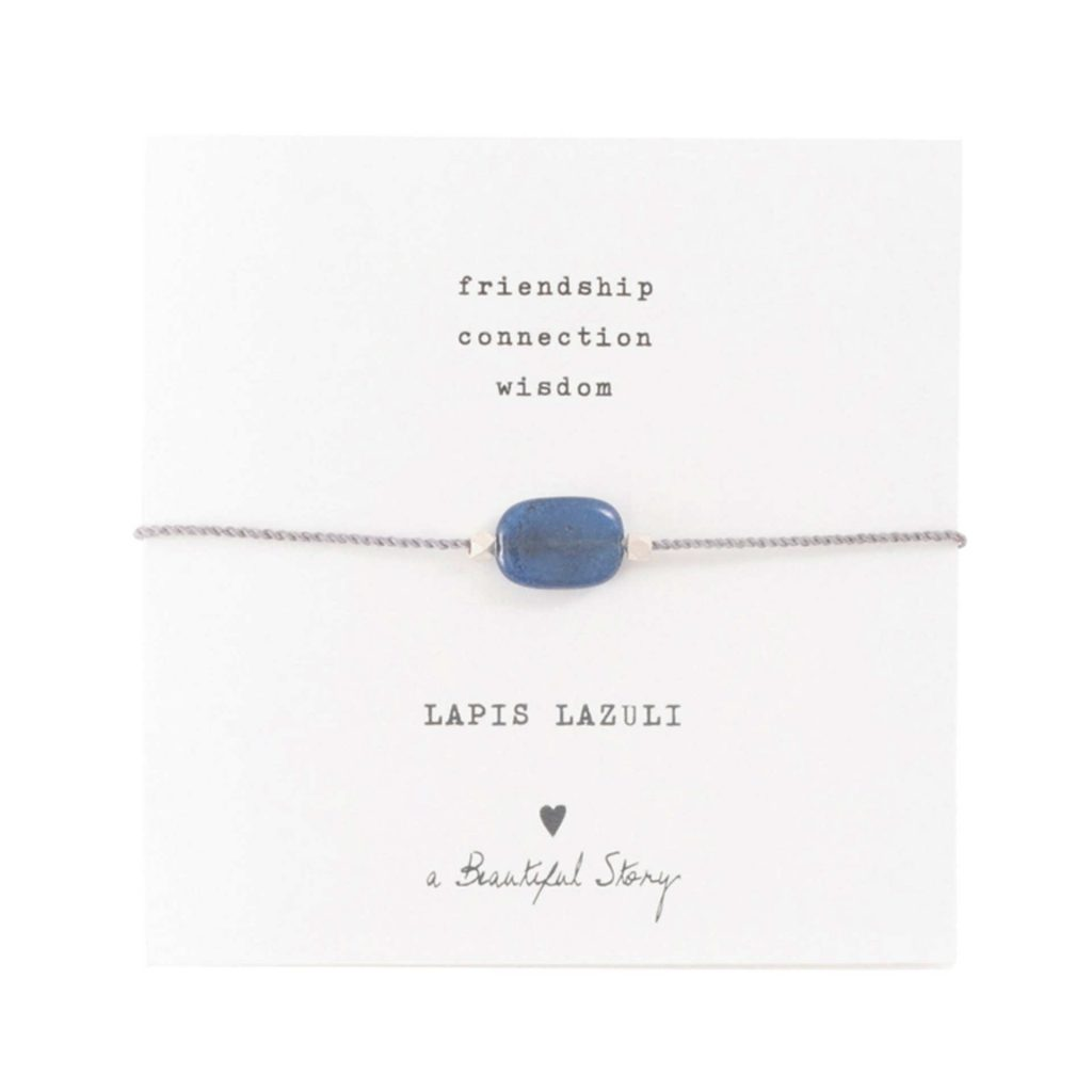 a Beautiful Story Armband Lapis Lazulli