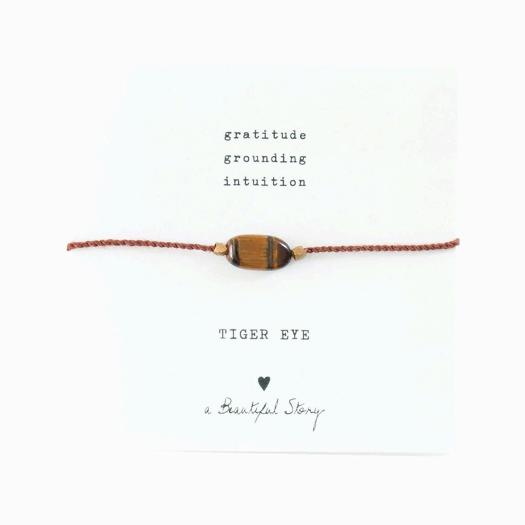 a Beautiful Story Armband Tiger Eye