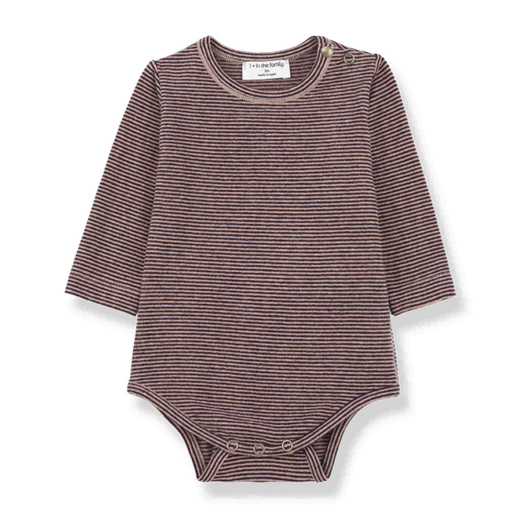 "1+ in the family Body ""Antwerp"" rose/burgundy"