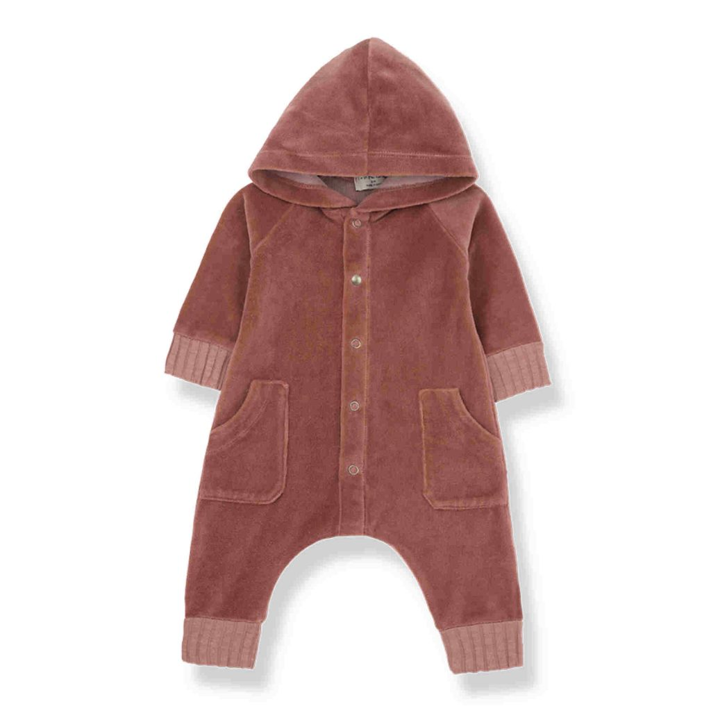 "1+ in the family Hoodie mit Jumpsuit ""Argos"" caldera"