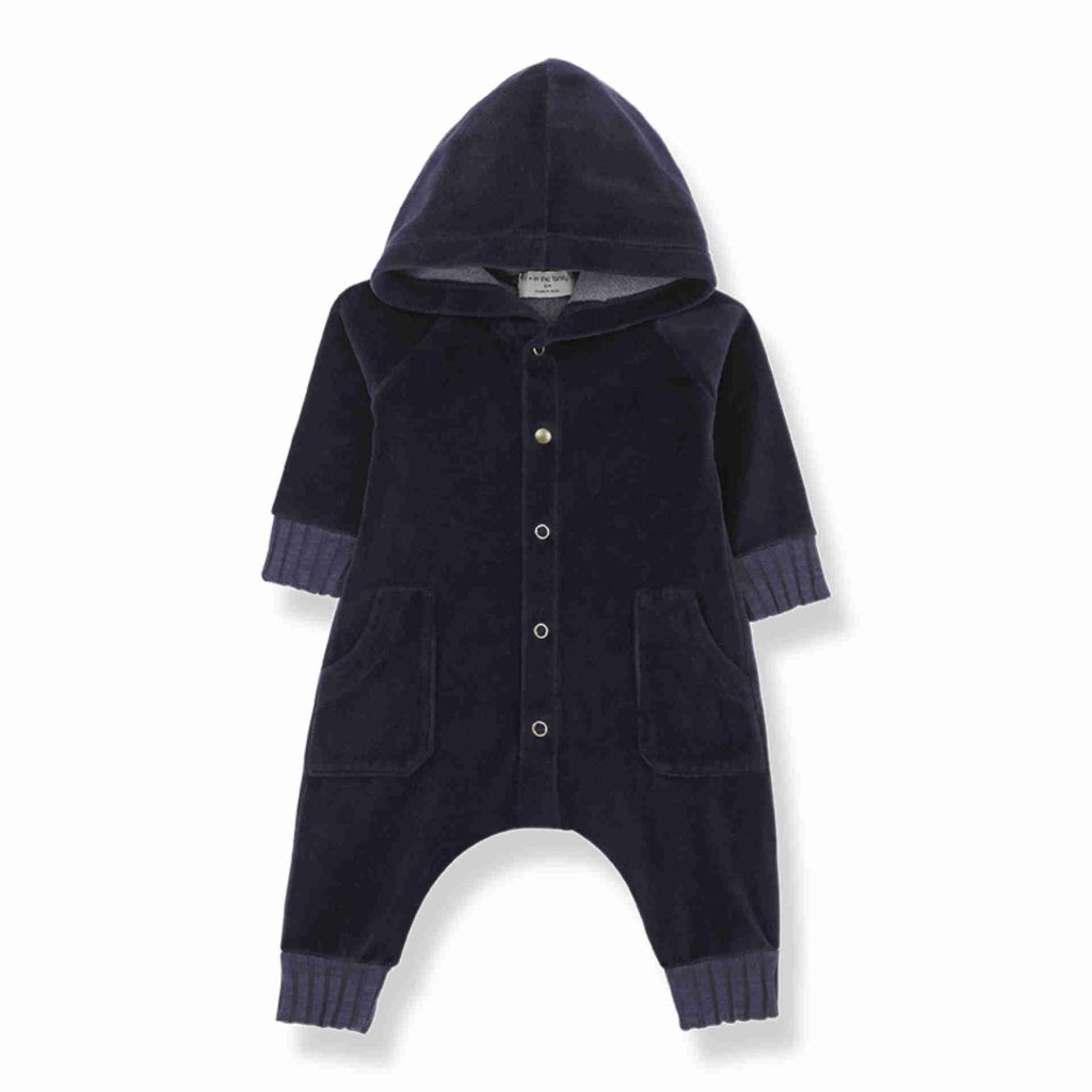"1+ in the family Hoodie Jumpsuit ""Argos"" dark blue"