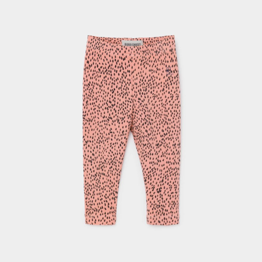 Bobo Choses All Over Leopard Pink Leggings